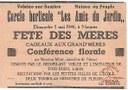"""Cercle """"horticole """"les amis du jardin"""" : Conférence florale"""