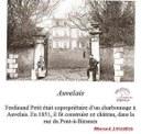 Auvelais : château appartenant à la famille PETIT, à la rue du Pont à Biesmes