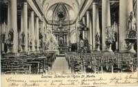 Tamines : intérieur de l'Eglise Saint Martin