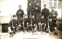 Groupe de militaires au Camp de Fouches (Arlon) mai 1913