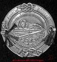 Médaille de la fédération belge de gymnastique datant de 1925  au nom de BOUILLOT Anselme
