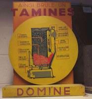 Tamines : Fonderie et Poêlerie de Tamines objet publicitaire
