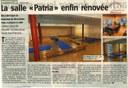"""Arsimont : Saint François. La salle """"Patria"""" enfin rénovée"""