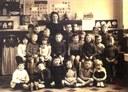 Arsimont : école communale. Classe de Mme LAMBERT Aline