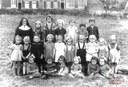 Arsimont : école des sœurs. Classe gardienne de Sœur Saint-Gustave