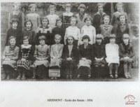 Arsimont école de sœurs 1934