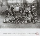 Arsimont : école des sœurs classe gardienne de sœur Thérésa 1926-1927