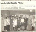 Tamines : l'Athénée Royal à 70 ans
