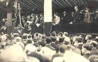 Tamines : commémorations du Massacre de Tamines en mai 1919