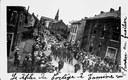 Tamines : cortège pour la commémoration du massacre de 22 août 1914