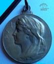 Médaille commémorative pour les déportés de la Première Guerre