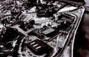 Auvelais Vue aérienne de la Grand'Place, de l'Administration communale, du Centre culturel