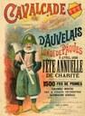 Affiche de la Cavalcade d'Auvelais de 1899