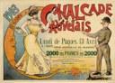 Affiche de la Cavalcade d'Auvelais de 1903