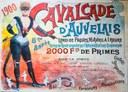 Affiche de la Cavalcade d'Auvelais de 1900