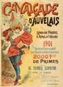 Affiche de la Cavalcade d'Auvelais de 1901
