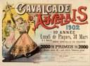Affiche de la Cavalcade d'Auvelais de 1902