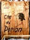 Bannière au nom de la Cité du Porion