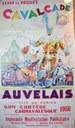 Cavalcade d'Auvelais Affiche de 1956