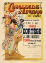 Affiche de la cavalcade d'Auvelais de 1908