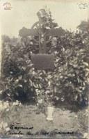 Tamines : première  tombe du caporal LEFEUVRE