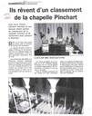 """Arsimont : """"Ils rêvent d'un classement de la chapelle PINCHART"""""""