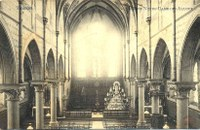 Tamines : intérieur de l'Eglise des Alloux