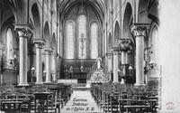 Tamines : intérieur de l'Eglise Notre-Dame des Alloux