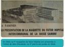 Auvelais  : futur Centre Hospitalier Régional du Val de Sambre