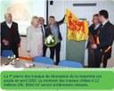 Auvelais : La 1ère pierre pour les travaux de rénovation de la maternité du Centre Hospitalier Régional du Val de Sambre