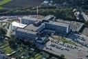 Auvelais : vue aérienne du Centre Hospitalier Régional du Val de Sambre