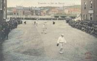 Tamines jeu de balle ( Place Saint Martin)