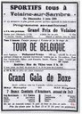 Velaine-sur-Sambre : Le tour de Belgique passe à Velaine-sur-Sambre le 03 Juin 1951