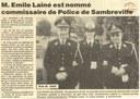 """Sambreville : """"M. Emile LAINE est nommé commissaire de Police de Sambreville"""
