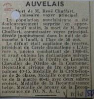 CHUFFART René (commissaire voyer principal)